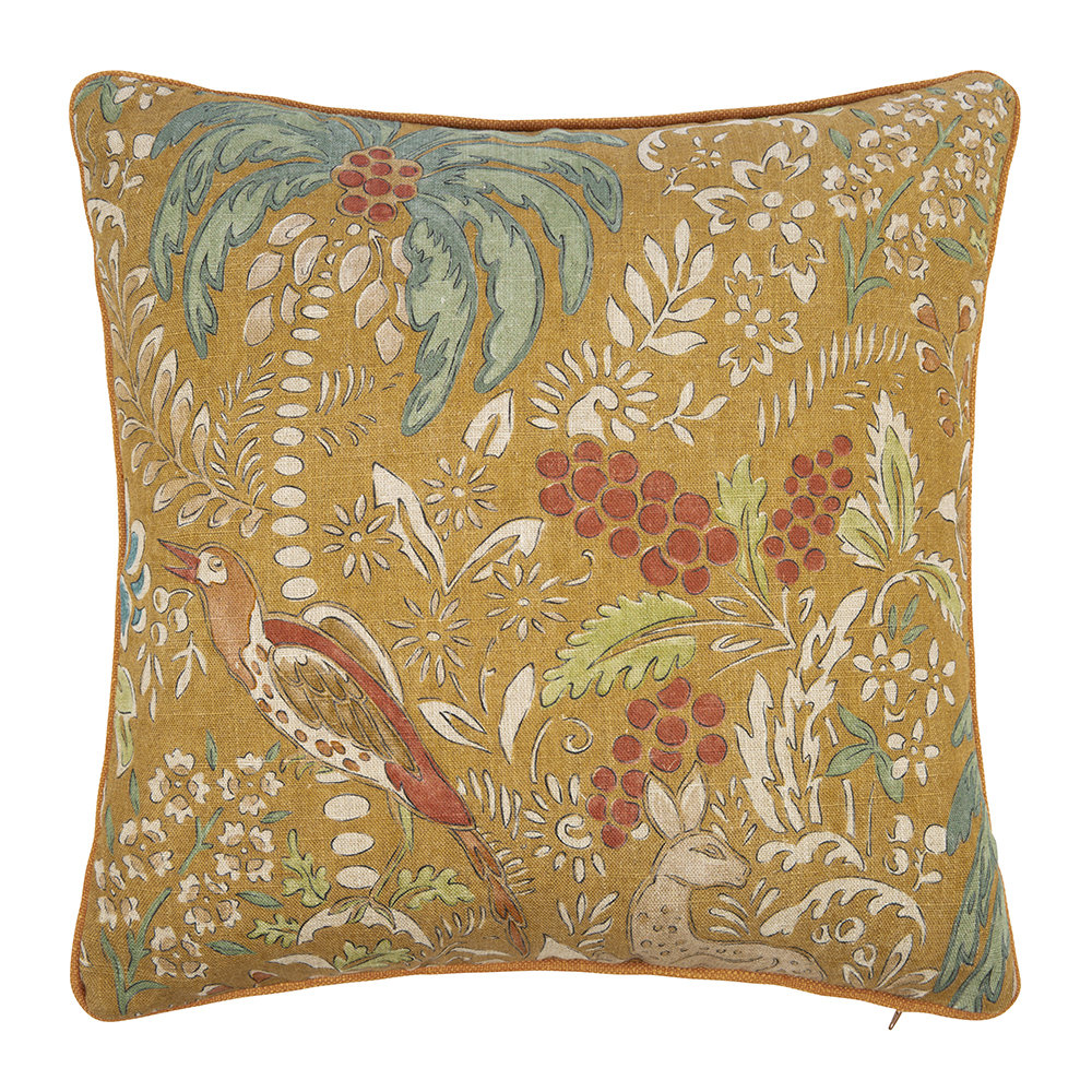 Mulberry Home - Fantasia Cushion - 45x45cm - Spice