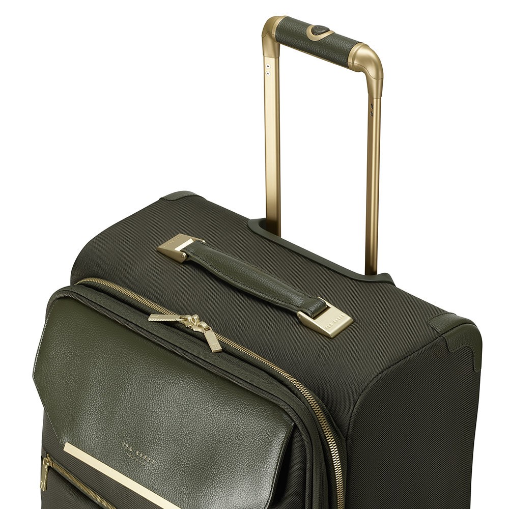 Ted Baker - Albany 2 Wheel Business Bag - Olive