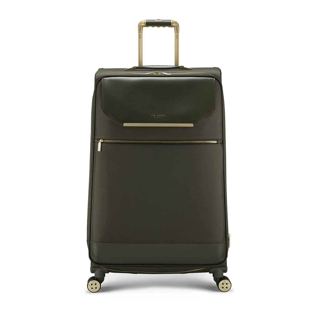 Ted Baker - Albany Suitcase - Olive - Large