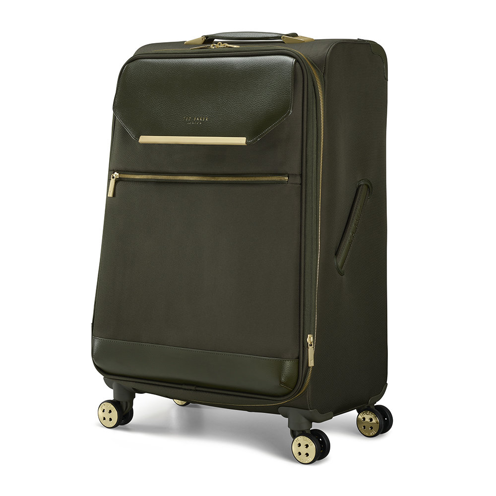 Ted Baker - Albany Suitcase - Olive - Medium