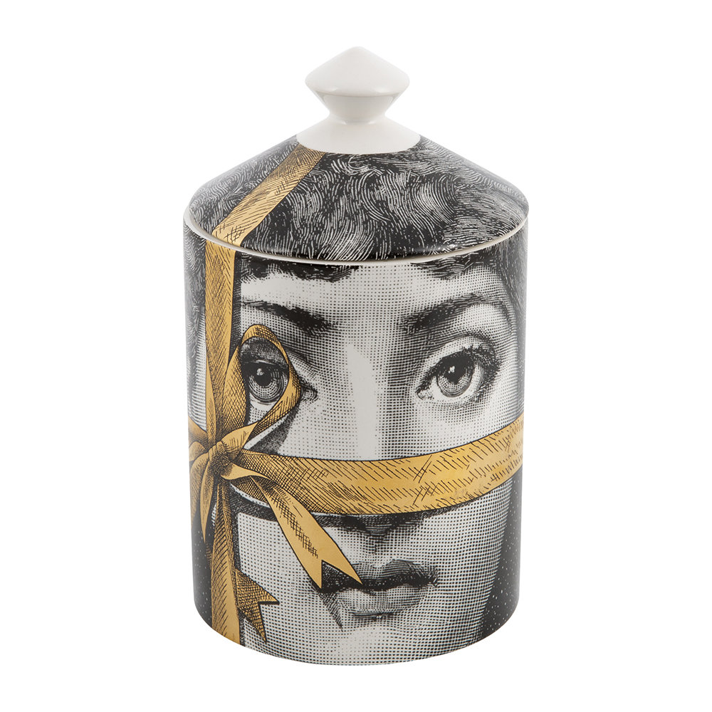 Fornasetti - Regalo Scented Candle - Gold - 300g