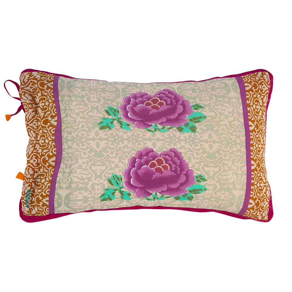 Lisa Corti - Cotton Cambric Pillow - 35x50cm - Pink