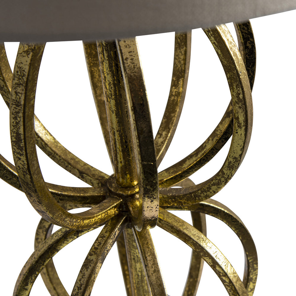 Rollo Table Lamp Antique Gold