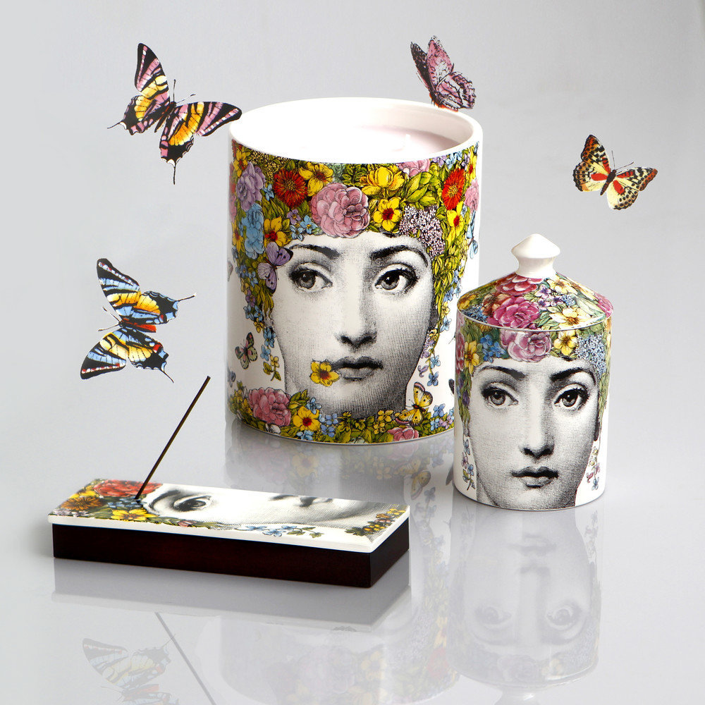 Buy Fornasetti Flora Scented Candle 1 9kg Amara