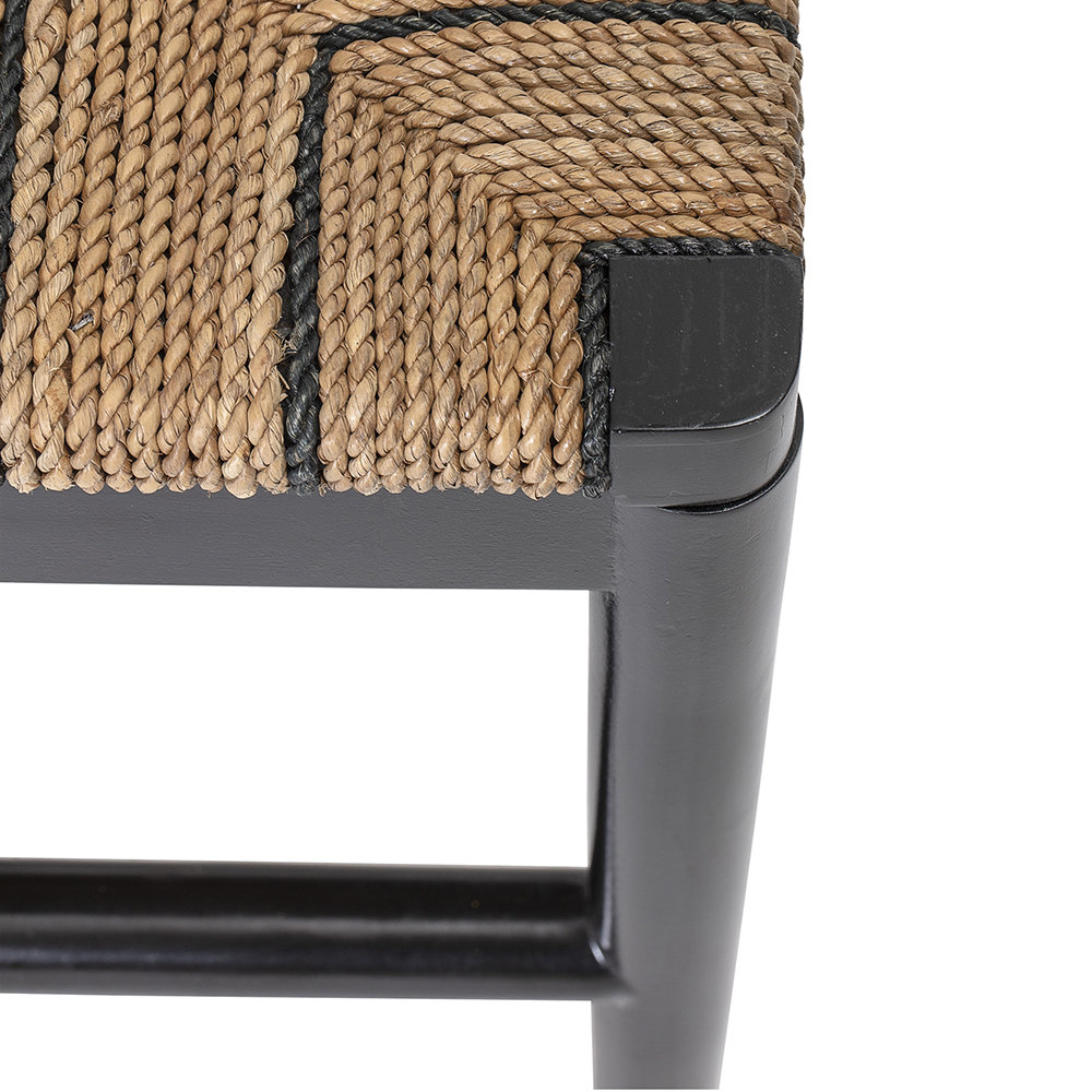 Bloomingville - Luce Seagrass Bench - Natural