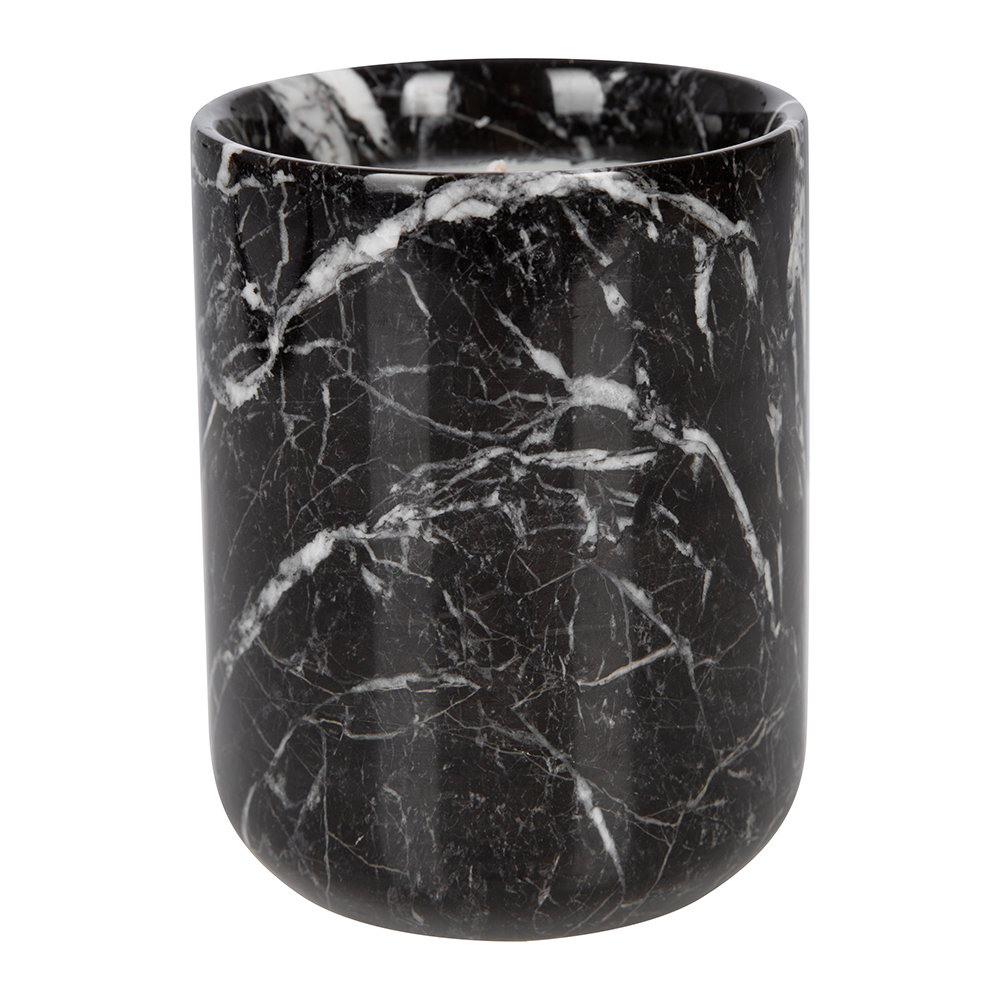 Stoned - Black Marble Scented Candle - Amsterdamned
