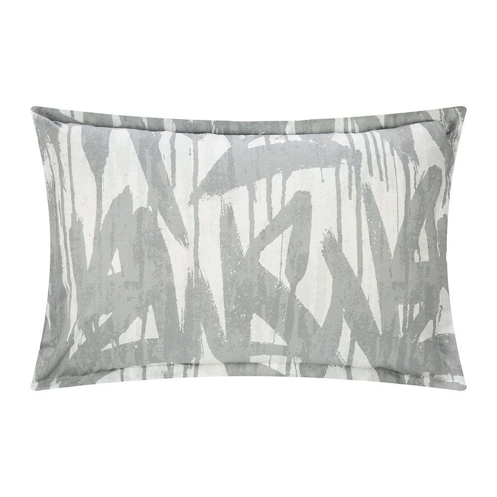 Diesel Living - Graffiti Quilt Cover - Grey - Double