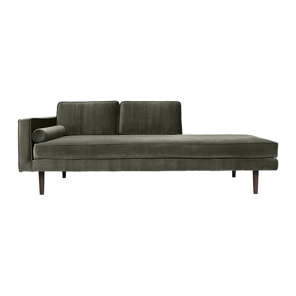 Broste Copenhagen - Wind Chaise Longue - Grape Leaf