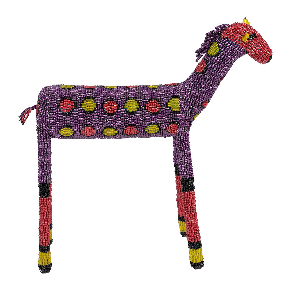 Source - Animal Ornament - Purple/Red - Medium
