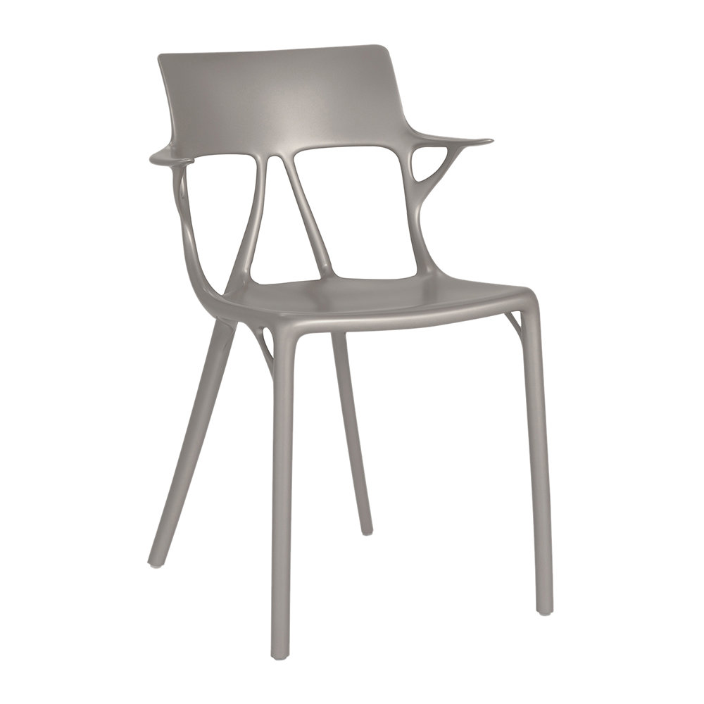 Kartell - Al Chair - Metallic Grey
