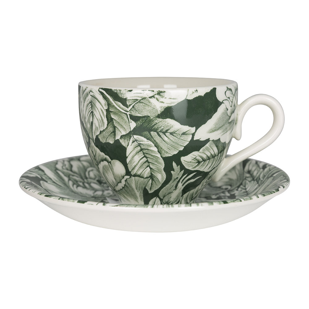 Soho Home - Burleigh Hibiscus Teacup and Saucer