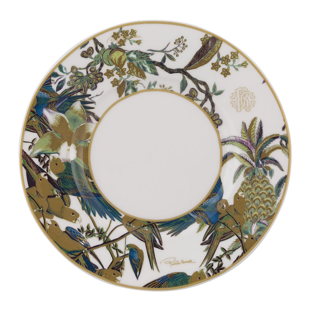 Roberto Cavalli - Flowers Regalo Teacup and Saucer - Set of 2