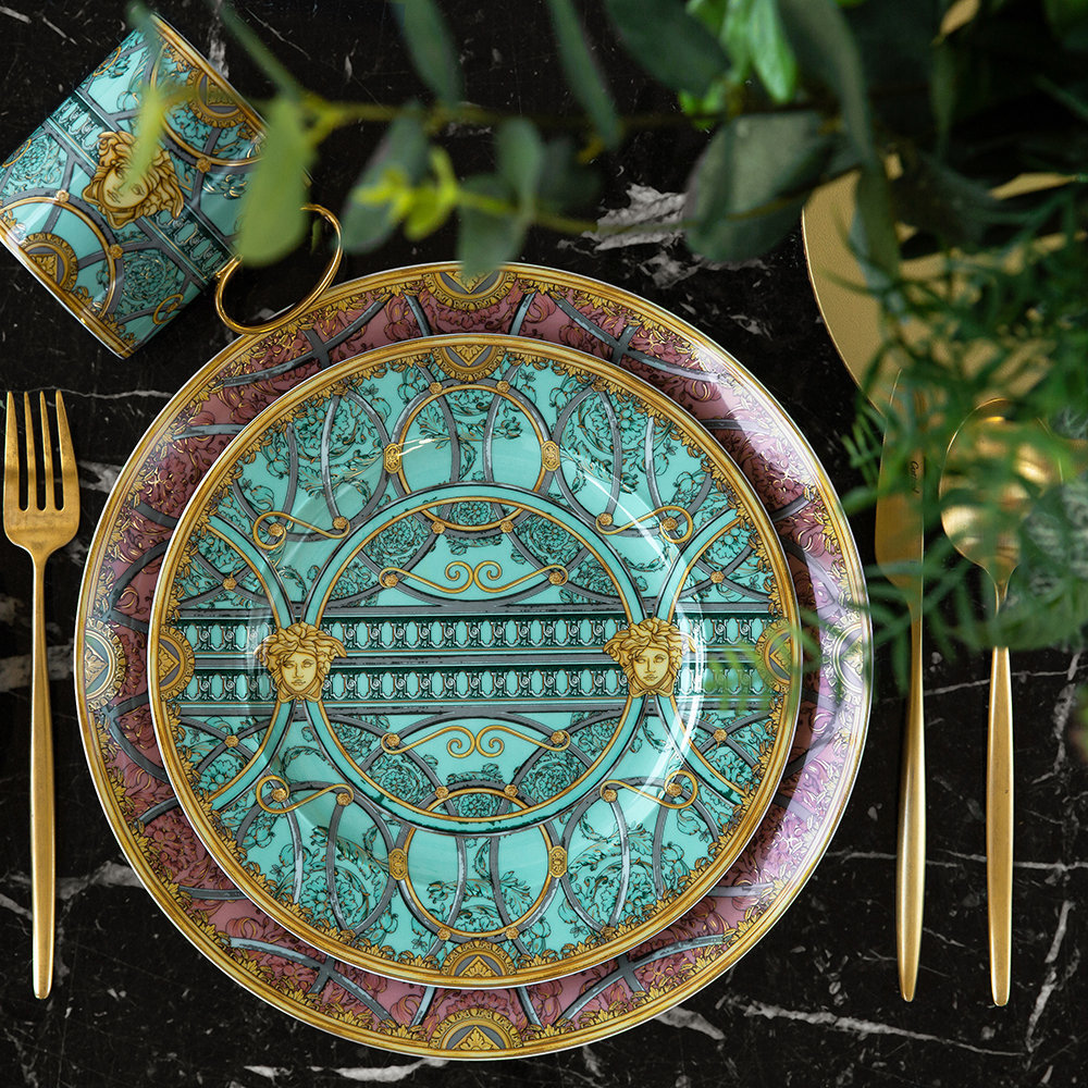 Versace Home - 25th Anniversary Scala Palazzo Plate - Limited Edition