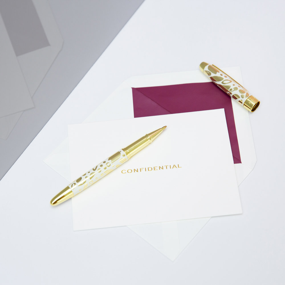 kate spade new york - Always Flowers Ballpoint Pen