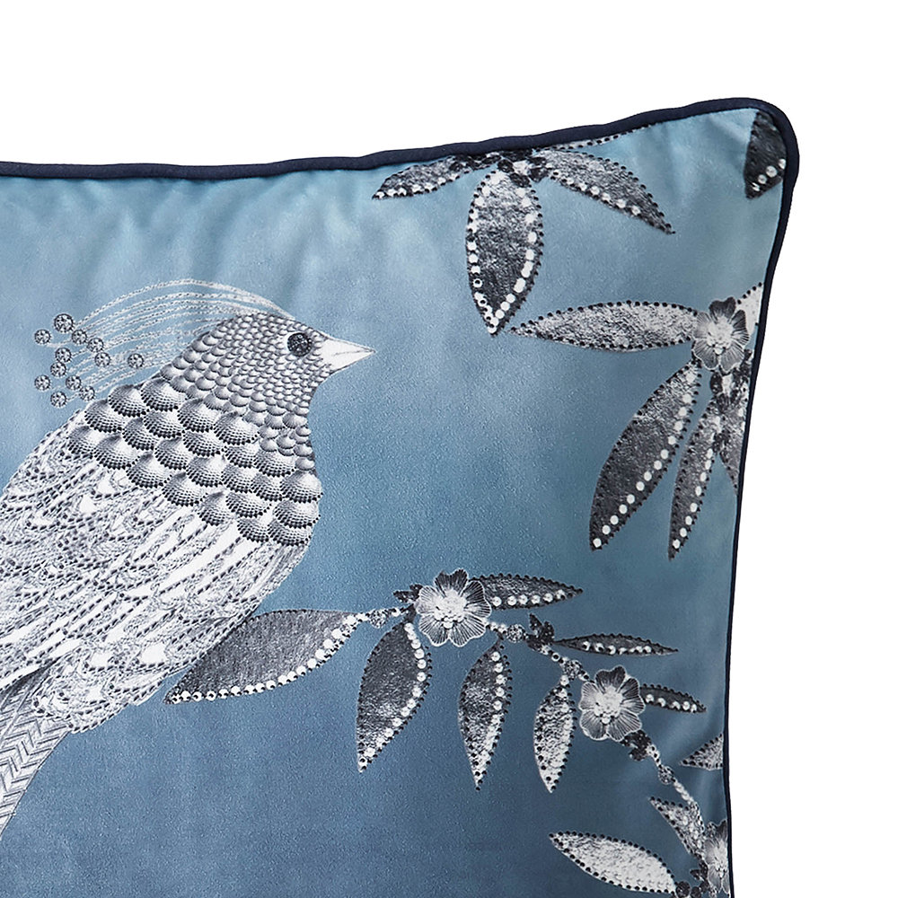 Rita Ora Home - Latimer Pillow - Teal - 45x45cm