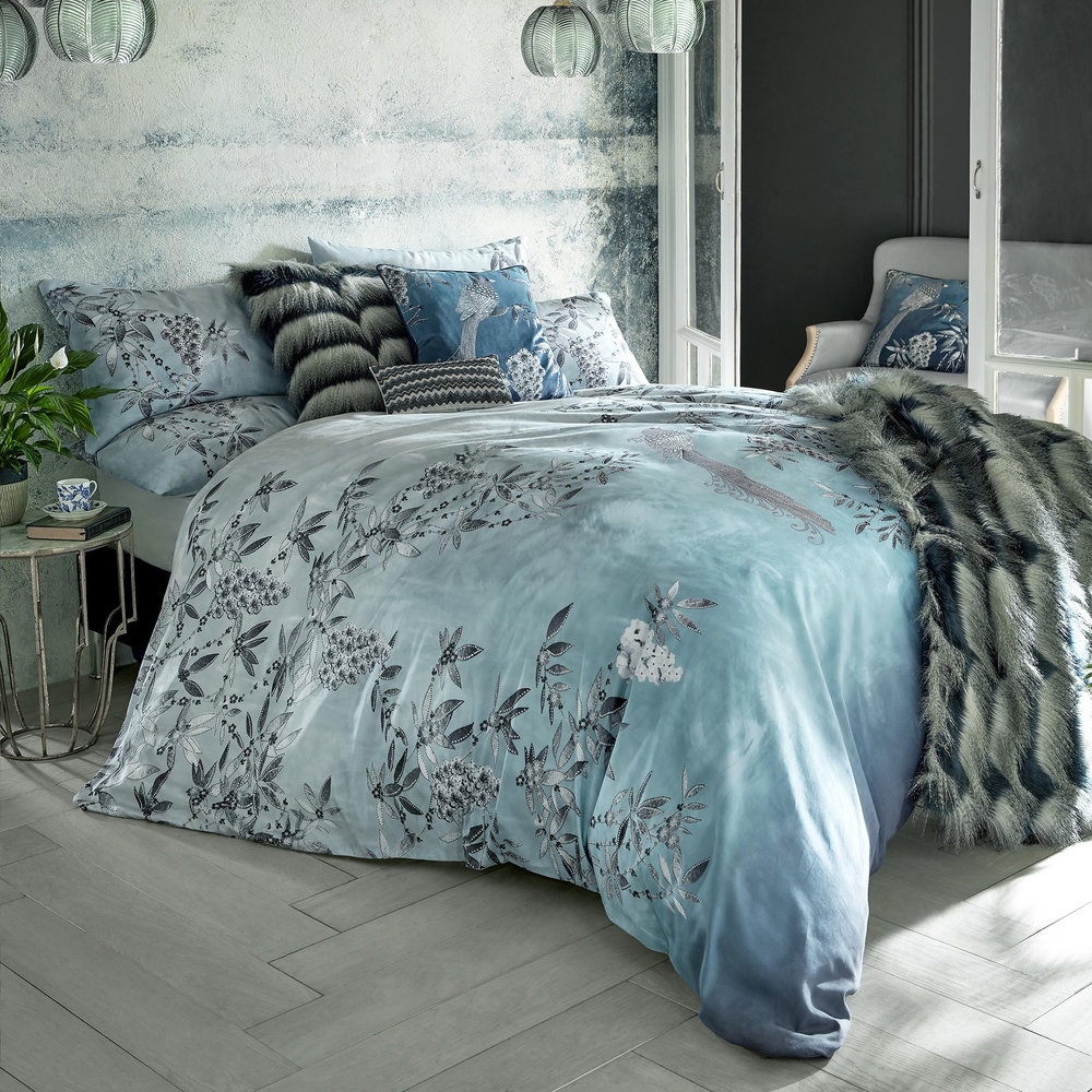 Rita Ora Home - Latimer Quilt Cover - Teal - King