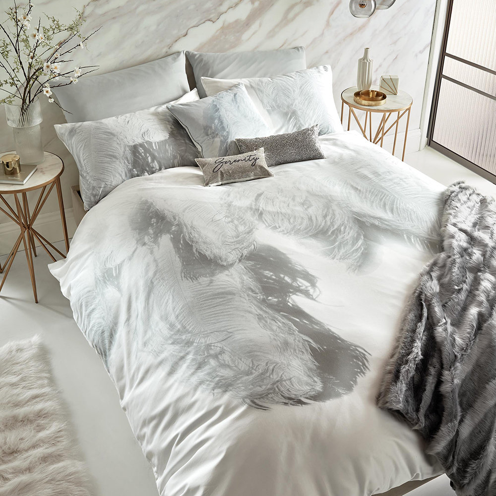white double duvet cover