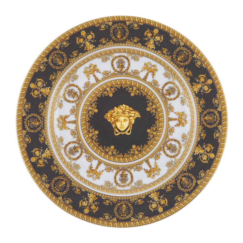 Versace Home - 25th Anniversary I Love Baroque Plate - Limited Edition