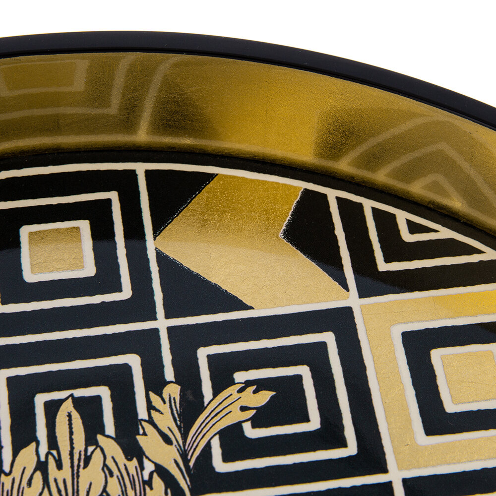 Christian Lacroix - Atout Couer Round Lacquer Tray