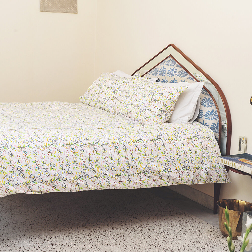 Lulu  Nat - Bedlinen Set in Bag - Original Multi Floral - King