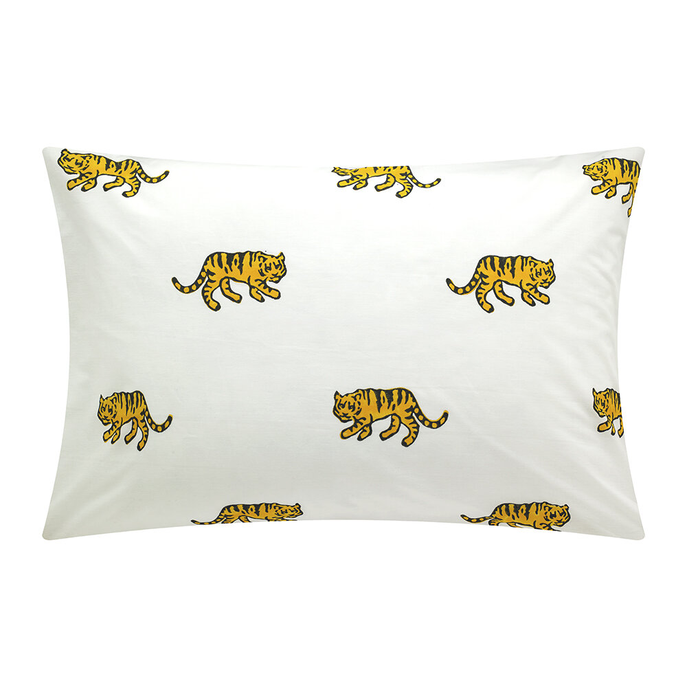 Lulu & Nat - Bedlinen Set in Bag - Tiger - Single