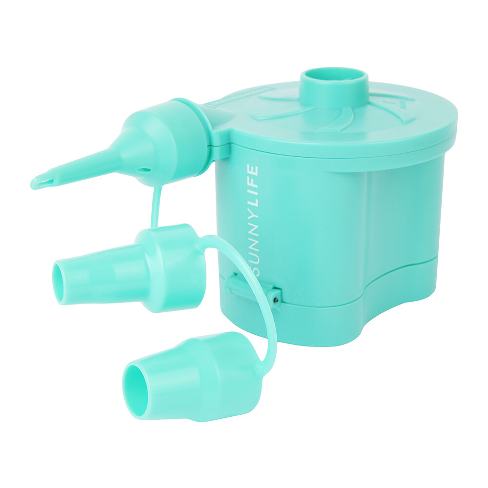 Sunnylife - Battery Air Pump - Turquoise