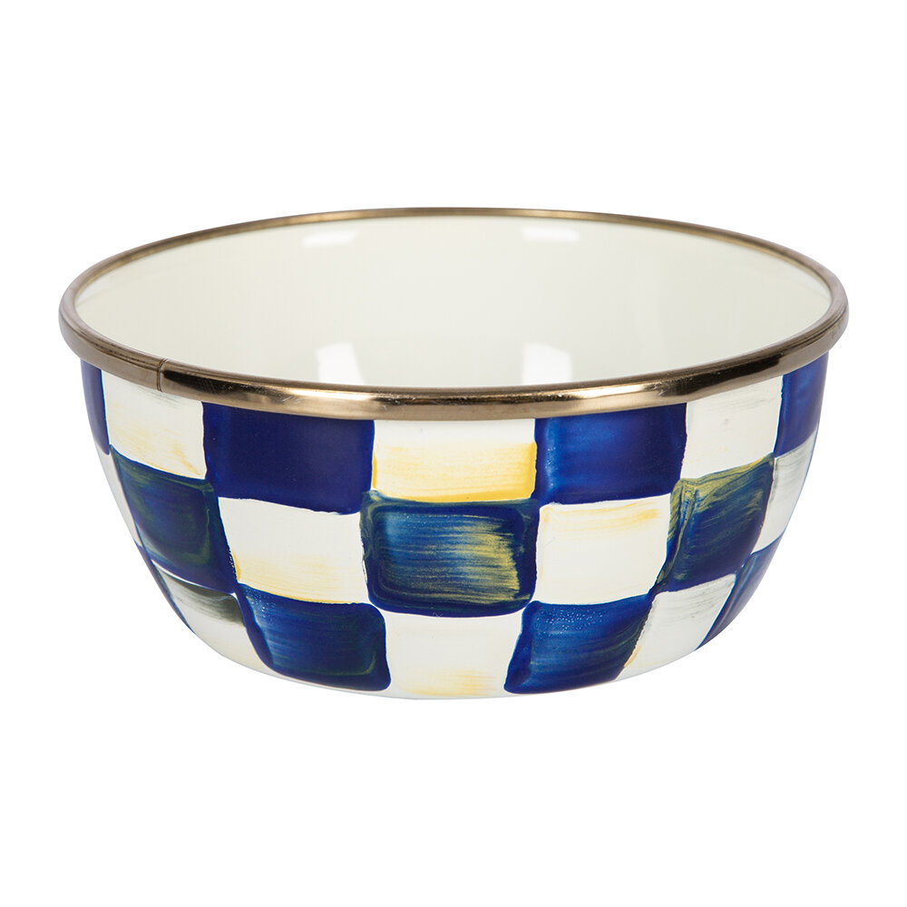 MacKenzie-Childs - Royal Check Pinch Bowl