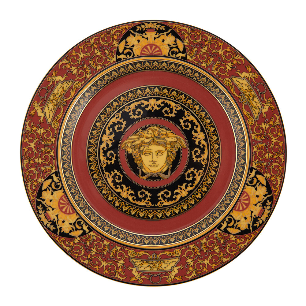 Versace Home - 25th Anniversary Medusa Plate - Limited Edition