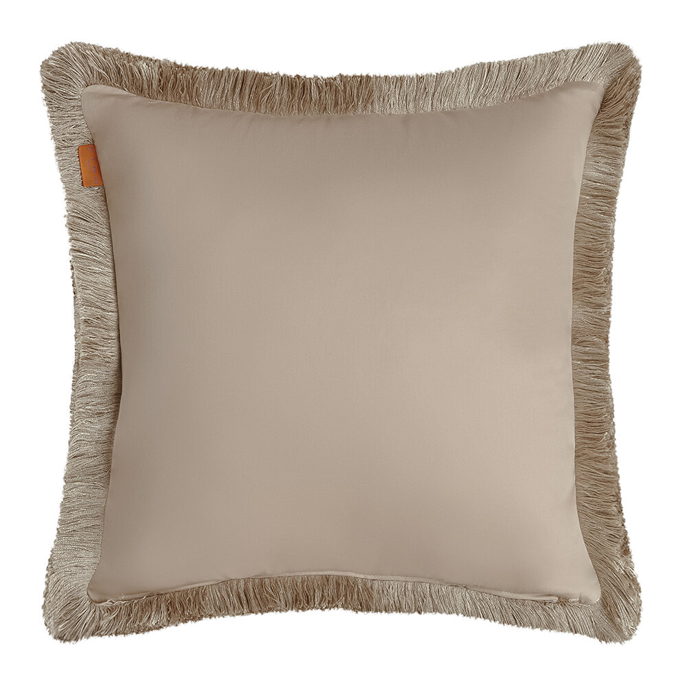 Etro - Avignone Montfavet Pillow with Piping - 60x60cm - Beige