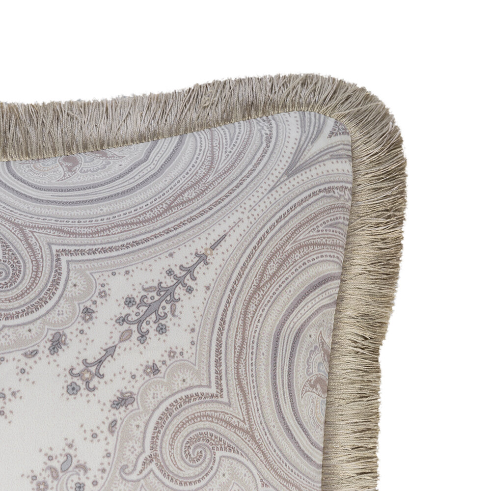 Etro - Avignone Pontet Pillow with Piping - 45x45cm - Beige