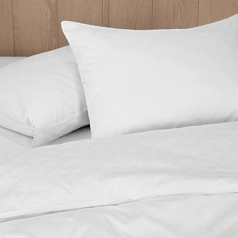 Calvin Klein - CK ID Pillowcase - Set of 2 - White