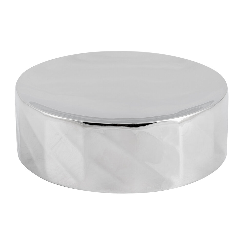 Luxe - Nickel Textured Soap Dish