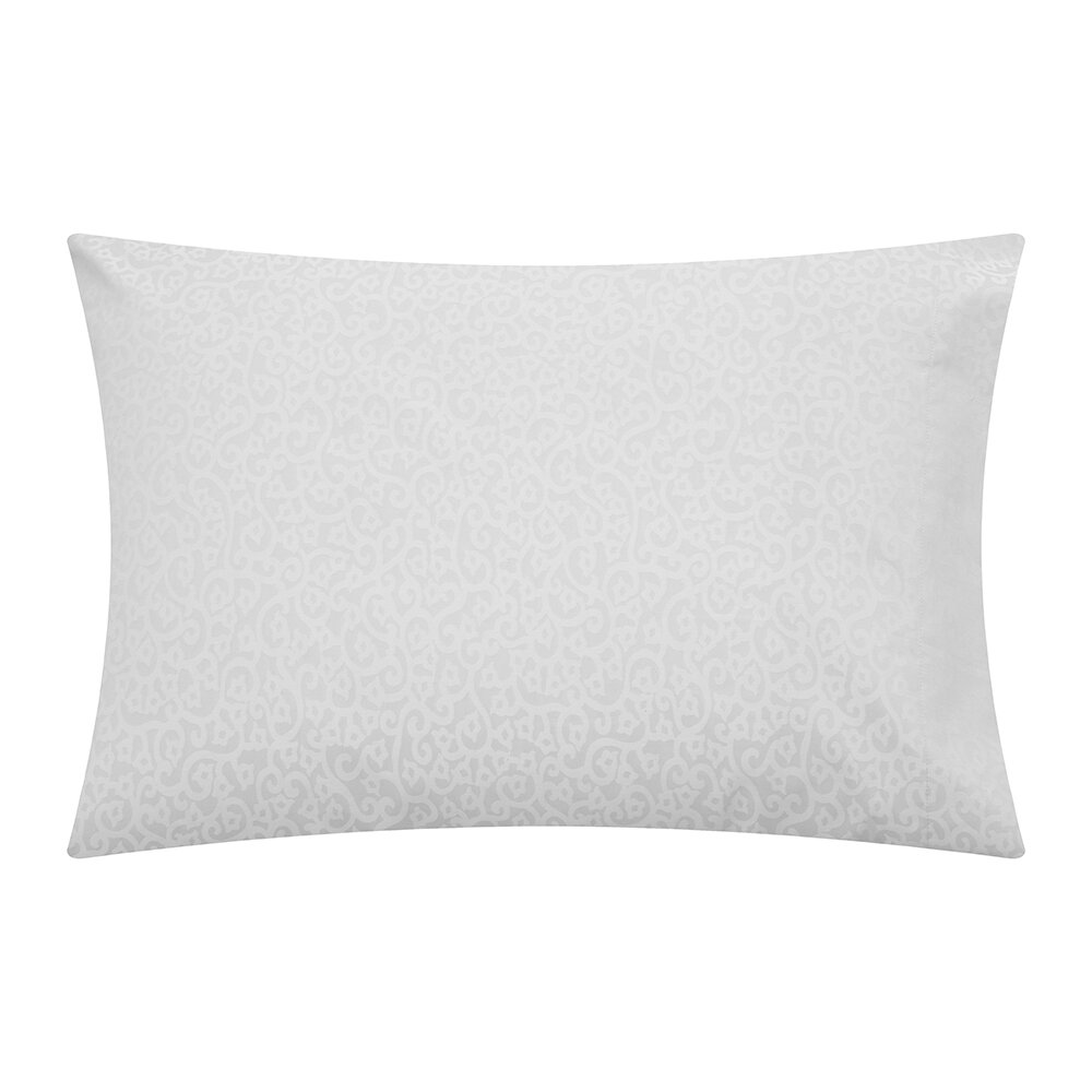 Reed Family Linen - Princess Grace Pillowcase Set of 2 - White - Housewife