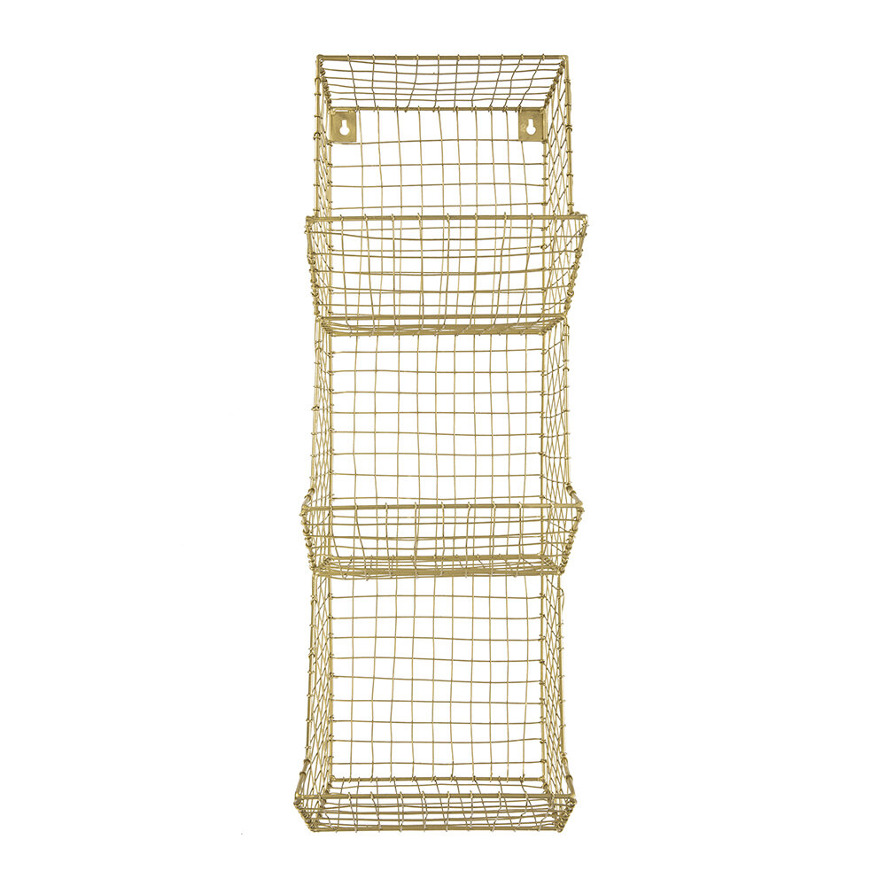 Image of A by AMARA - Wire Shelves - 3 Tier