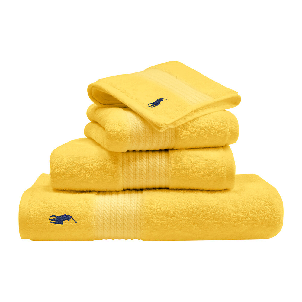 Ralph Lauren Home - Player Towel - Yellow - Bath Towel