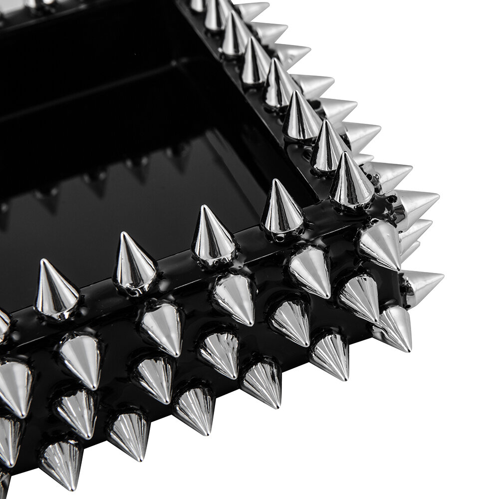 Mike + Ally - Spikes Tray - Silver/Black