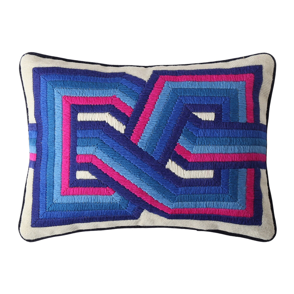 Jonathan Adler - Bargello Supergraphic Pillow