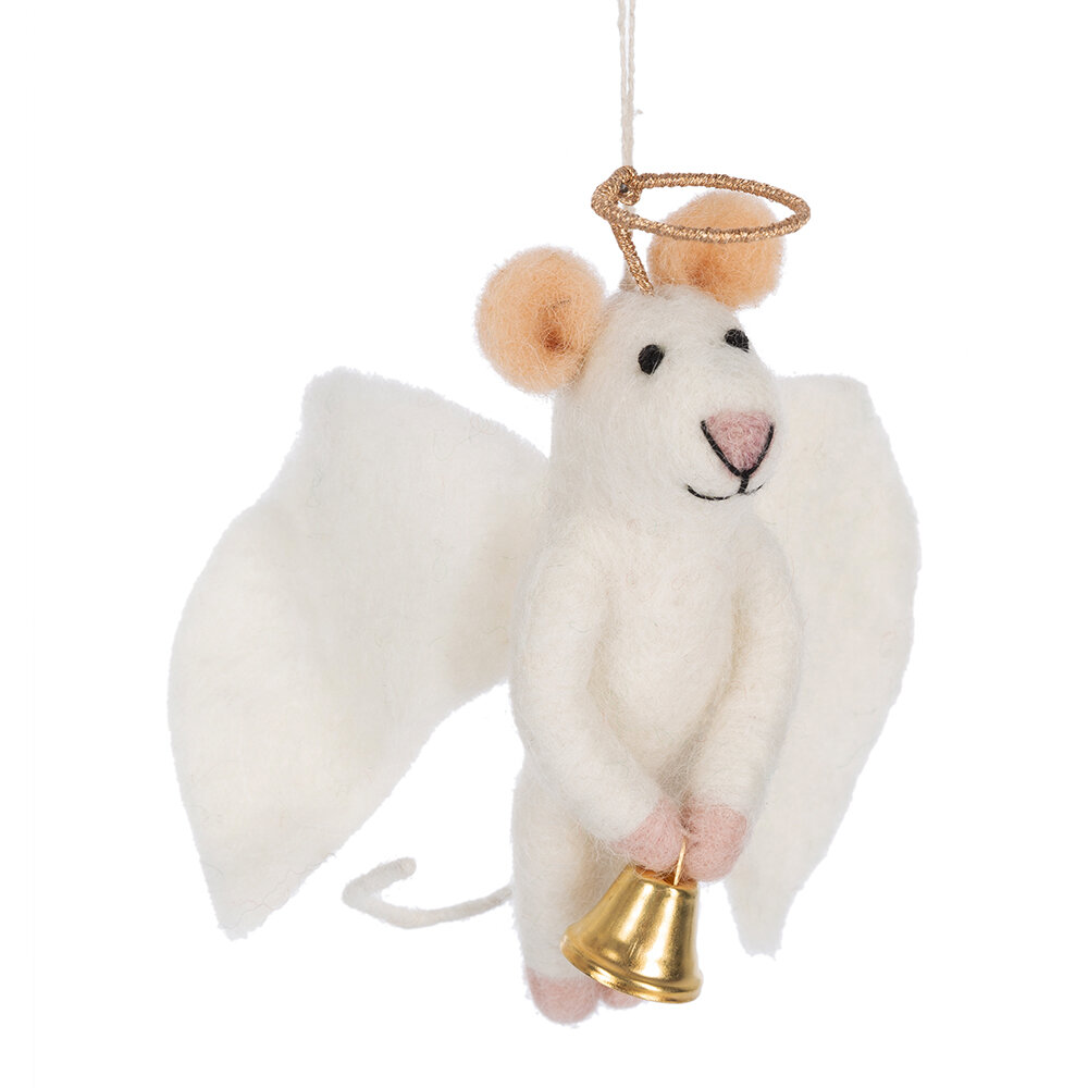 Felt So Good - Angelica Mouse Tree Decoration
