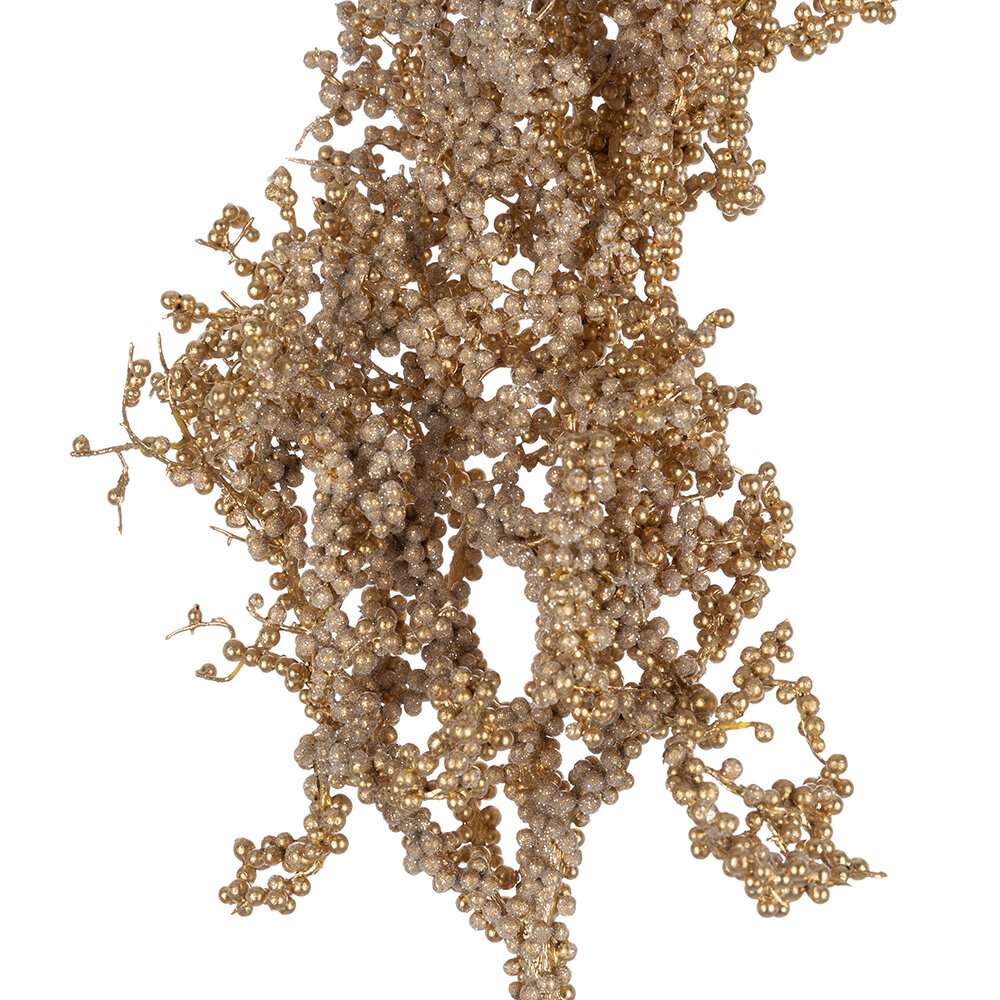 A by AMARA Christmas - Berry Cluster Branch - Gold