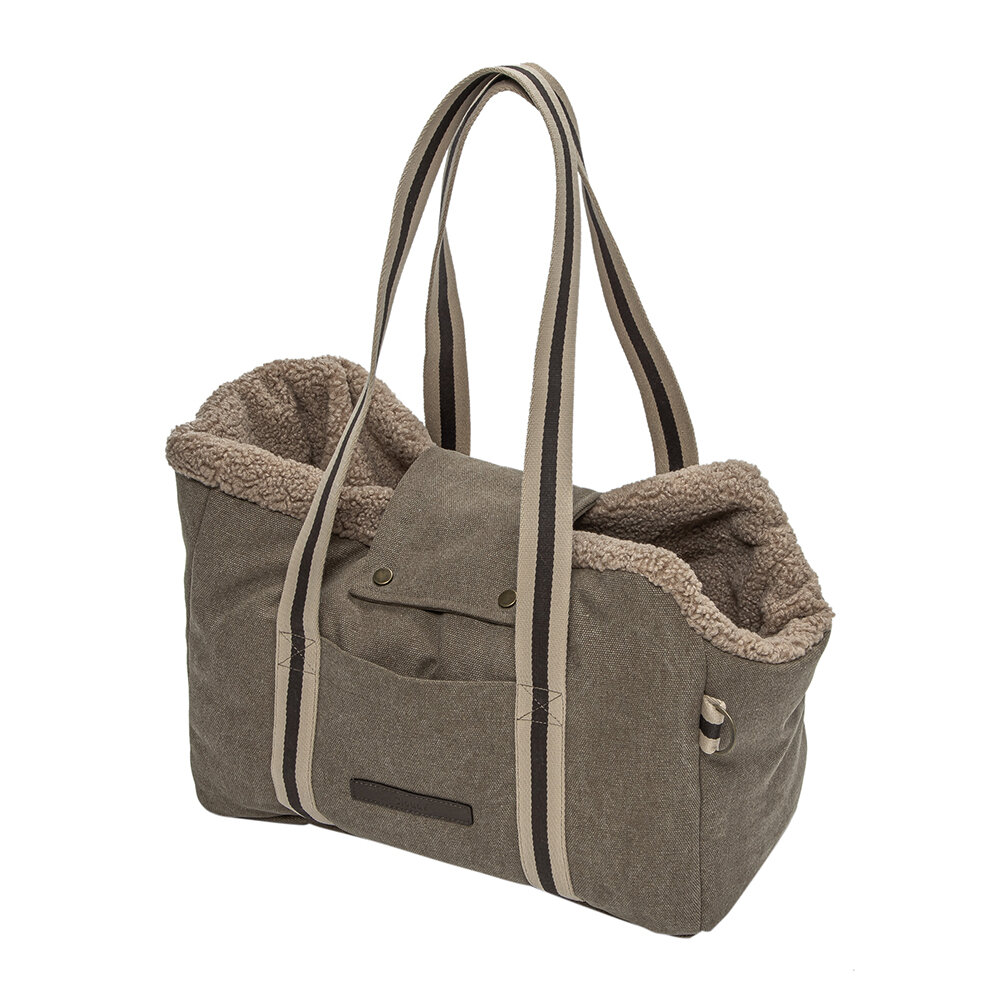Cloud 7 - Lucca Dog Carrier - Canvas Sand - Small