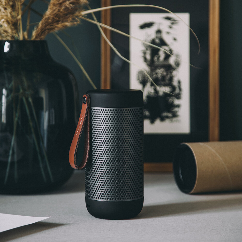 KREAFUNK - aCoustic Bluetooth Speaker - Black Edition