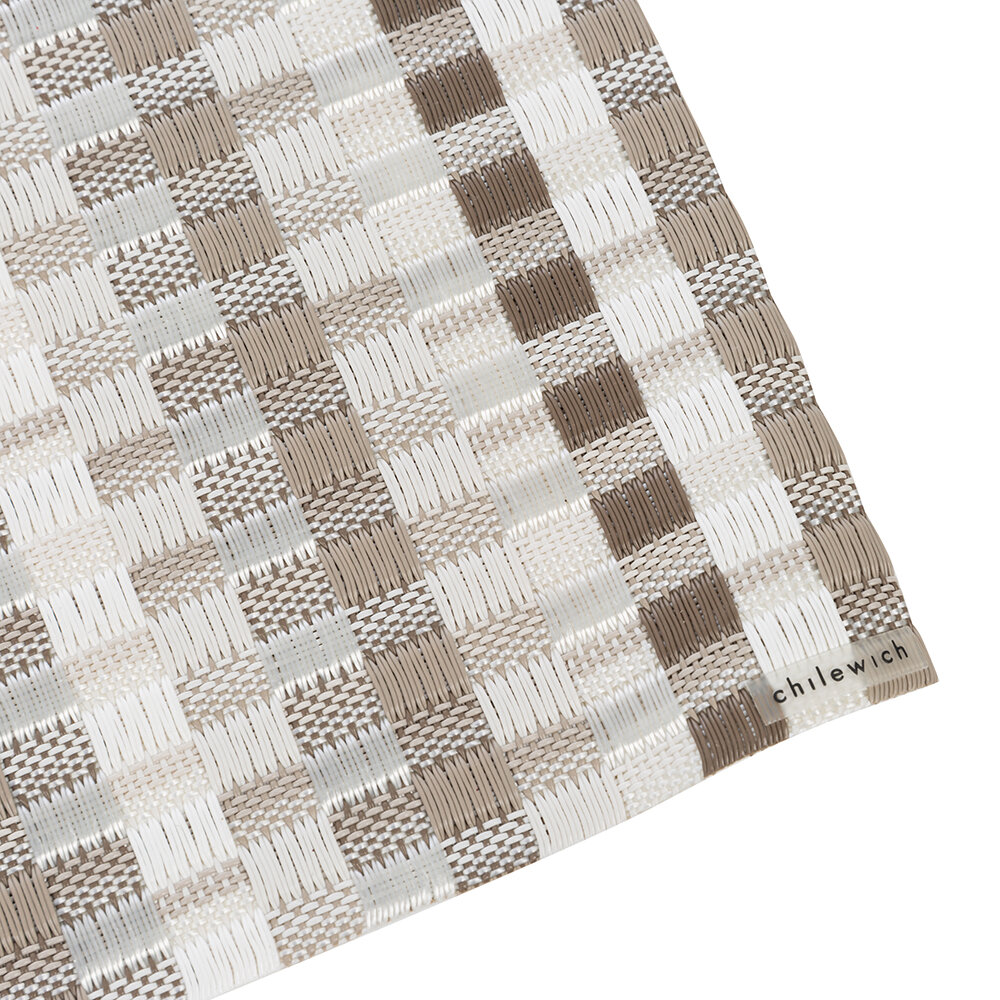 Chilewich - Heddle Rectangle Placemat - Pebble