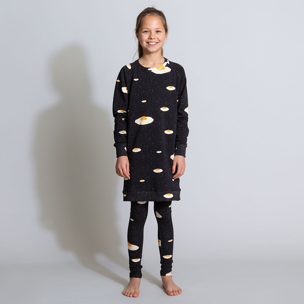 Snurk - Children's Eggs In Space Lounge Trousers