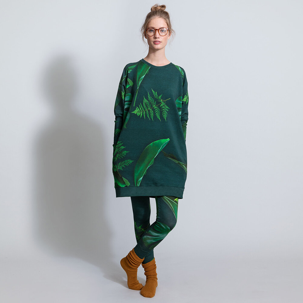 Snurk - Women's Green Forest Sweater