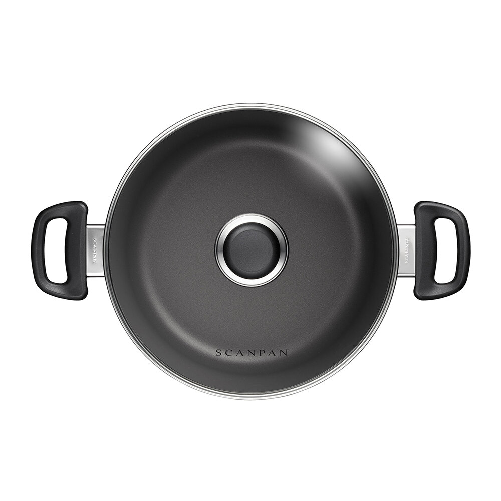 Scanpan - Classic Induction Casserole Dish with Lid - 24cm