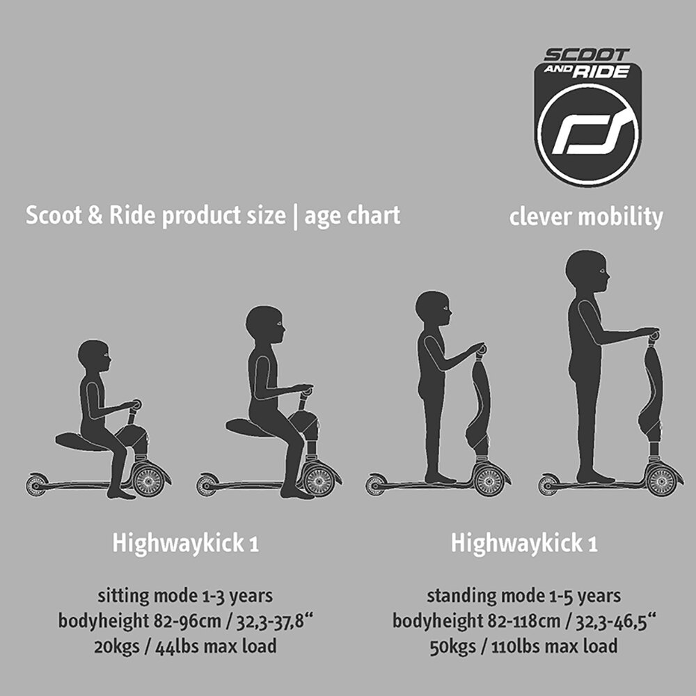 Scoot and Ride - Highway Kick 1 - Forêt