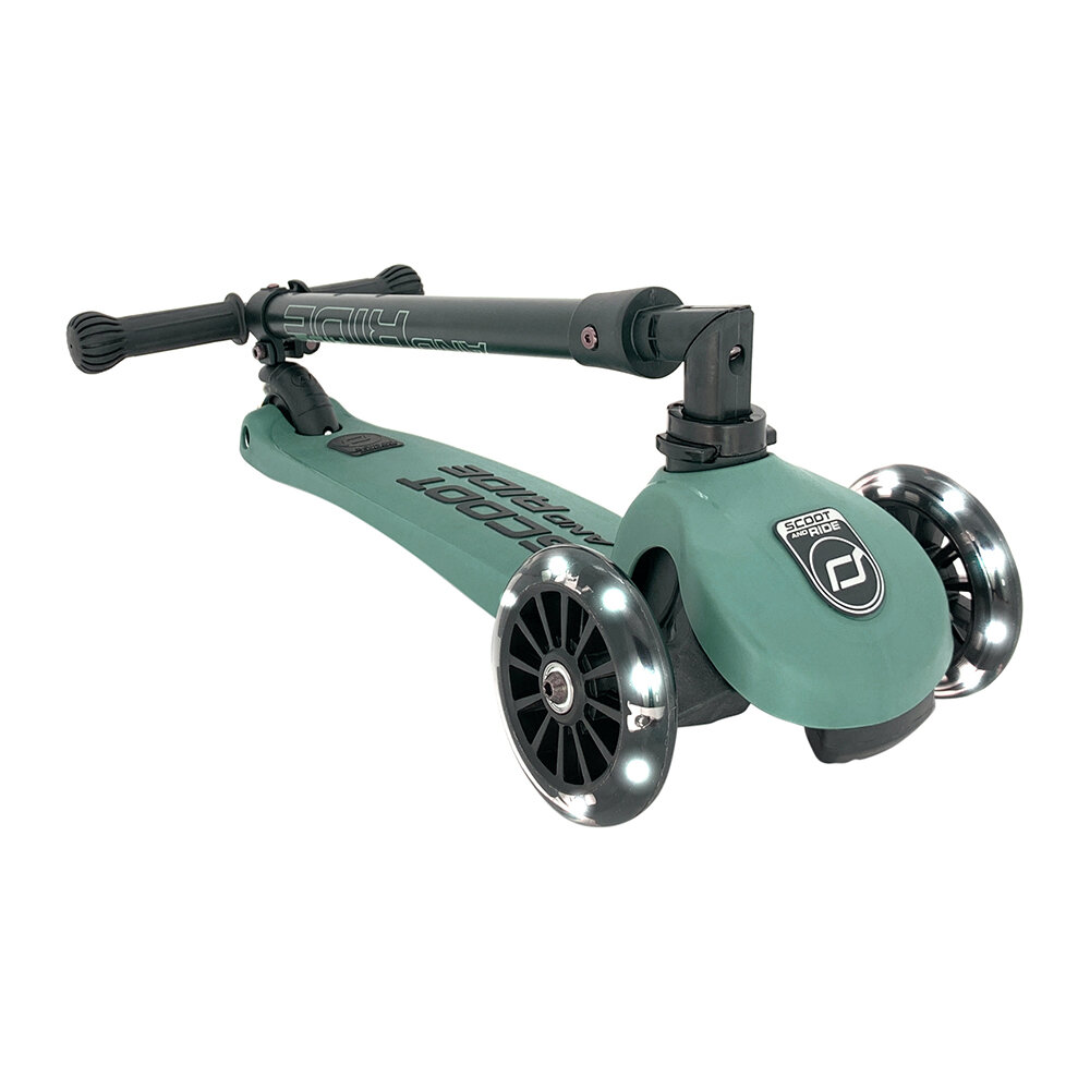 Scoot and Ride - Highway Kick 3 LED - Forêt