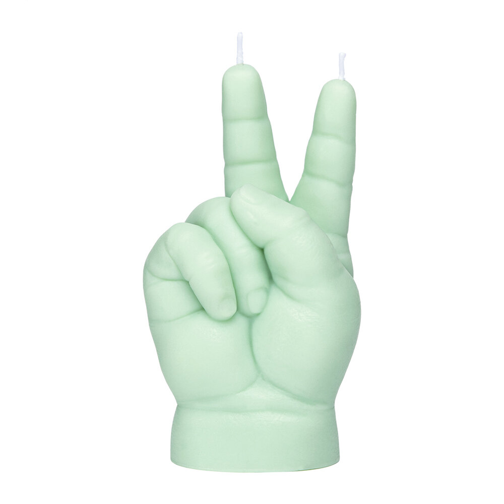 Candle Hands - Baby 'Victory' Candle - Green