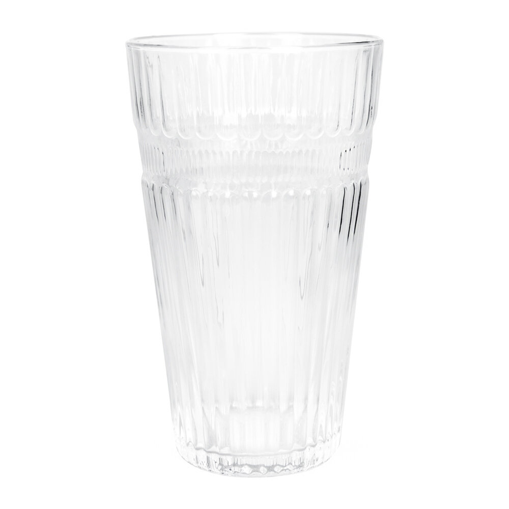 Image of A by AMARA - Barroc Highball Glasseset of 6 - Clear