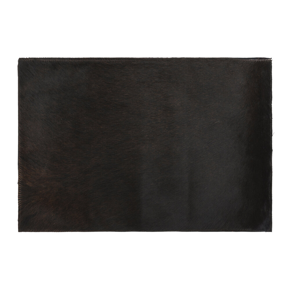 Image of A by AMARA - Cowhide Placematset of 2 - Chocolate